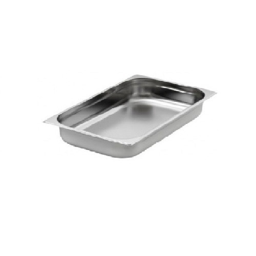 Hot Box Tray Large - S/S 60mm Deep