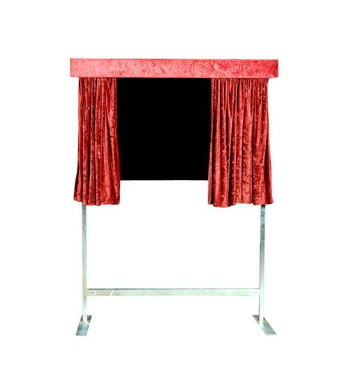 Unveiling Curtain - Burgundy